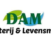 Logo Dam Drogisterij en Levensmiddelen
